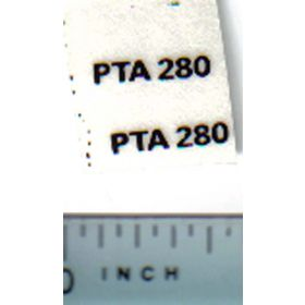 Decal 1/32 Steiger PTA280 Model Number