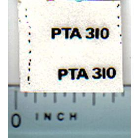Decal 1/32 Steiger PTA310 Model Number