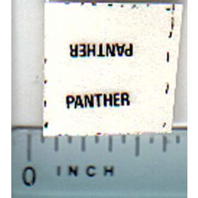Decal 1/64 Steiger Panther Model Number