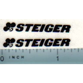 Decal Steiger Logo (black)