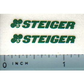 Decal Steiger Logo (green)