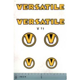 Decal 1/16 Versatile w/logo (early)