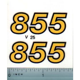 Decal 1/16 Versatile 855 Series 2 Model numbers (late)