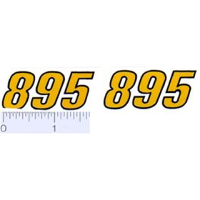 Decal 1/16 Versatile 895 Model numbers