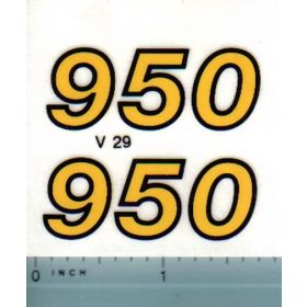 Decal 1/16 Versatile 950 Series 2 Model #'s (late)