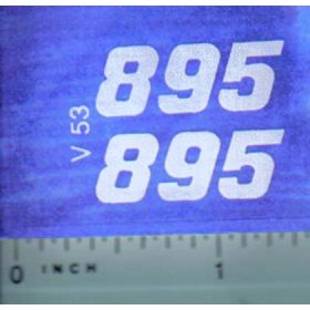 Decal 1/16 Versatile 895 Series 3 Mo. #
