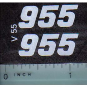Decal 1/16 Versatile 955 Series 3 Mo. #