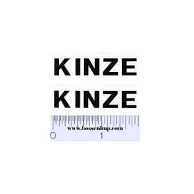 Decal Kinze (Pair)