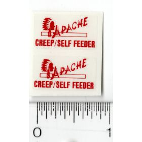 Decal 1/64 Apache Creep/Self Feeder (Pair)