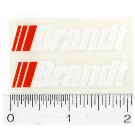 Decal Brandt (Large) Pair