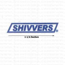 Decal Sivvers 1.5 inches