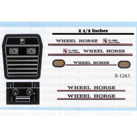 Decal 1/12 Wheel Horse C-165 GT Set