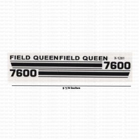Decal 1/16 Field Queen