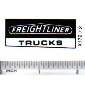 Decal 1/64 Freightliner Trucks