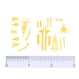 Decal Pin Stripe Set - Yellow small