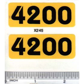 Decal 1/16 Balzer Model No 4200