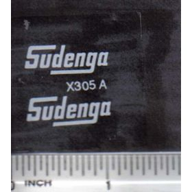 Decal 1/16 Sudenga - White