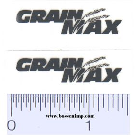 Decal 1/64 Grain Max Set of 2