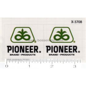 Decal 1/64 Pioneer Set of 2
