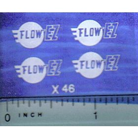 Decal 1/64 Flow EZ Logo
