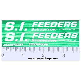 Decal 1/16 S.I. Feeders