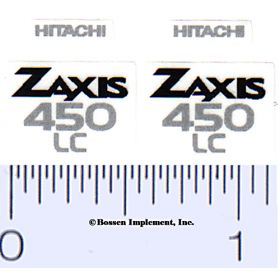 Decal 1/16 Hitachi Zaxis 450 LC