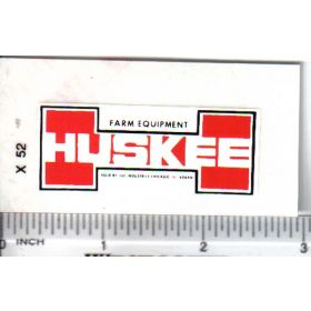 Decal 1/16 Huskee