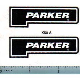 Decal 1/16 Parker Logo