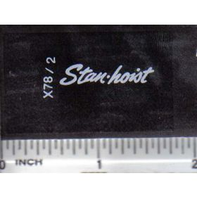 Decal 1/16 Stan-hoist