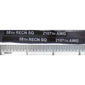 Decal 1/16 58th RECN SQ 2107th AWG