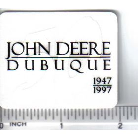 Decal 1/16 John Deere Dubuque 50th