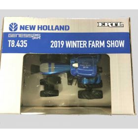 1/64 New Holland T8.435 MFD w/front & rear duals '19 Winter Farm Show