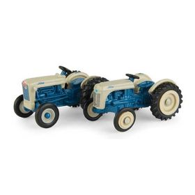 1/64 Ford 8N & Jubilee blue & gray set