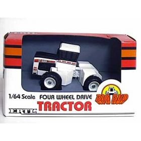 1/64 Big Bud 400/30 4WD White, single tires