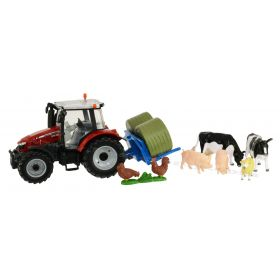1/32 Massey Ferguson 5612 Play Set