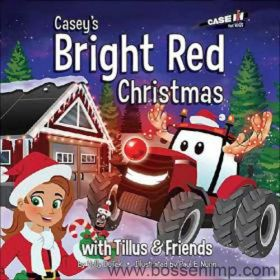 Book Casey's Bright Red Christmas