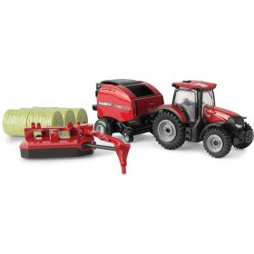 1/64 Case IH Maxxum 145 Baling Set