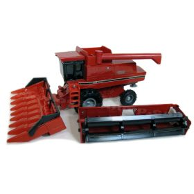 1/32 Case IH Combine 1680 with two heads