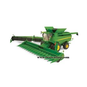 1/32 John Deere Combine S-690 with 2 heads Prestige Series