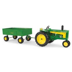 1/16 John Deere 730 NF with barge wagon