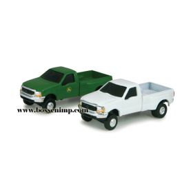 1/64 Ford F-350 Pickup w/duals varied colors