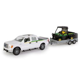 1/16 Big Farm  Ford F-150 with JD Gator and Trailer Set