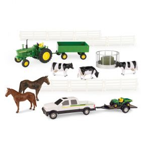 1/32 Chevy Pickup with JD 4020 Value Set