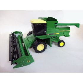 1/24 John Deere Combine titan yellow roof & grain head