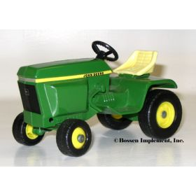 1/16 John Deere 300 garden tractor with solid yellow stripe