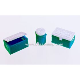 1/64 Cooler Set of 3 different coolers