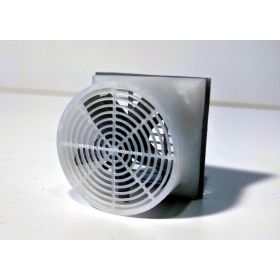 1/64 Barn Fan 72 inch Exhaust Fan Kit 3D printed