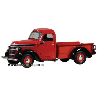 1/25 International D2 Pickup 1938 IH Red & Black
