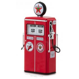 "1/18 Gas Pump Wayne 350 Twin Texaco ""Fire-Chief Extra Super"""