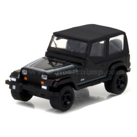 1/64 Jeep Wrangler 1989 Black Bandit Series 17